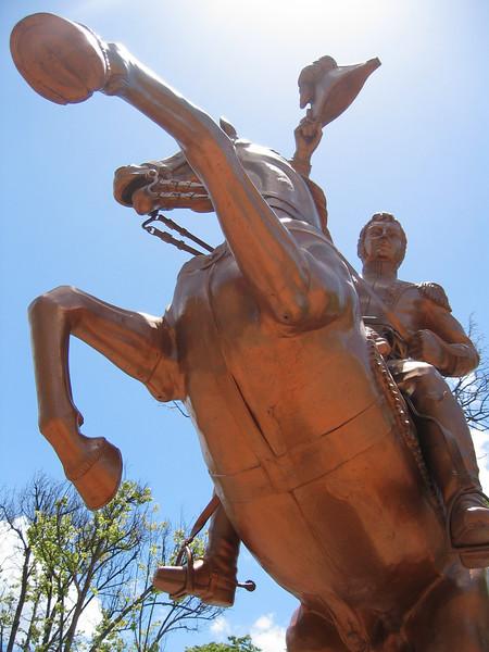 Los Angeles, O'Higgins the man the myth the legend