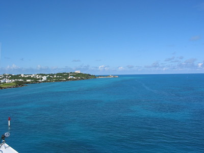 Arriving Bermuda  007
