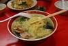 函館『一蘭拉麵』的海鮮拉麵,可惜湯頭是個人較不偏好的鹽味