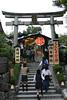 規模雖小但人氣超旺的地主神社,位置就在清水寺旁