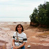 Bay of Fundy - see the little boat?