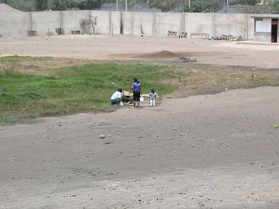 From my apartment in Surco, Lima. I think this is my mom taking a picture of the children abusing their chickens. Lack of respect of life, human and otherwise, I found all too common in Peru