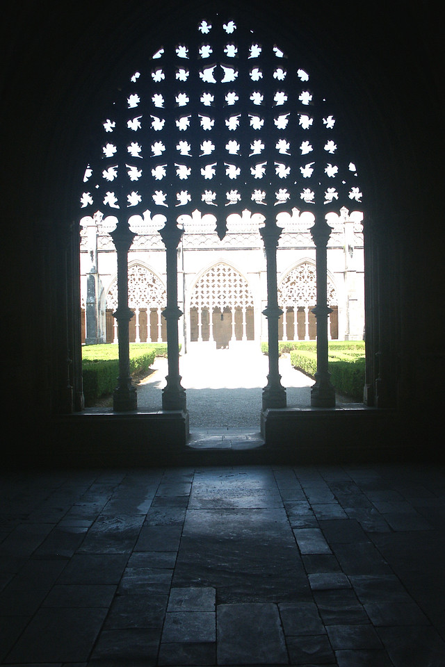 Doorway to the monestary gardens.