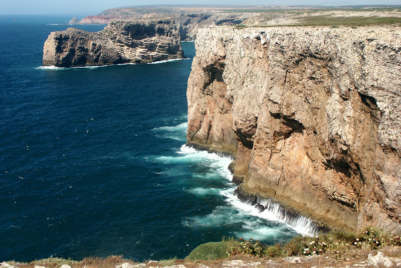 This is the most south-western point in Europe - it's called Cape of St. Vincent.