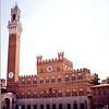 Pallazo Pubblico (town hall), in Siena.