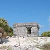 ruin on beach