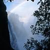 The Victoria Falls.