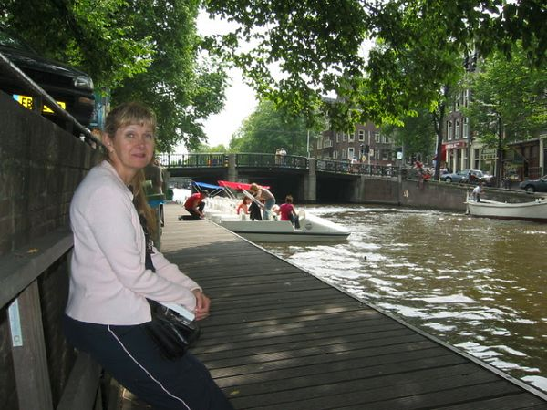 Our trip began by exploring the canals of Amsterdam.