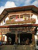 Our hotel in Punakha featured traditional Bhutanese architecture.