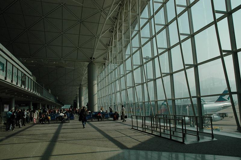 機場的登機處