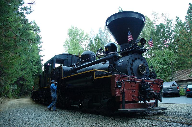 火車頭近照