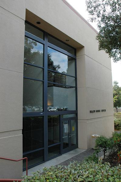 Braun Music Center in Stanford University