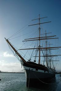Balclutha三桅帆船