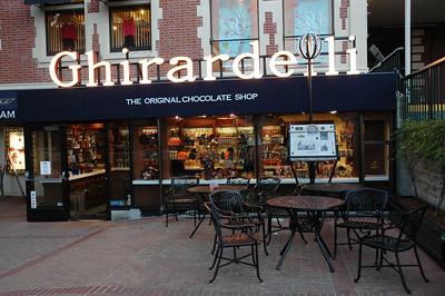 著名的Ghirardelli巧克力店