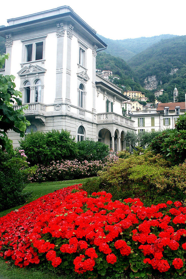 Hotel Imperiale on Lake Como, our base in the Italian lake region, only about 20 miles from Lugano,