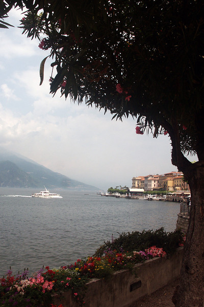 Another beautiful town on Lake Como, Belagio, one that you usually reach by ferry.