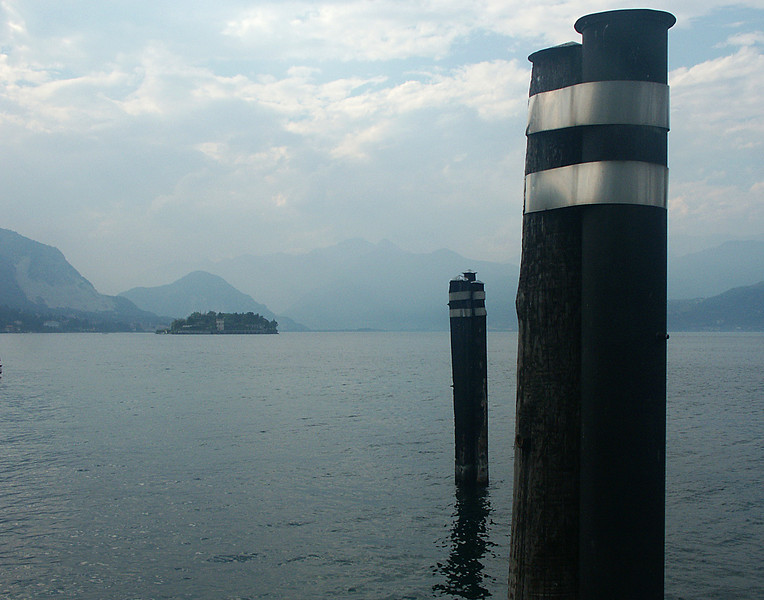 Another of the lakes in northern Italy, lake Maggiori, about 50 miles wast of Lake Como.