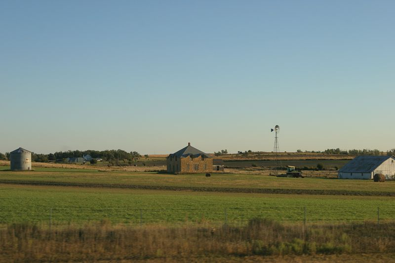 Kansas, along interstate 70