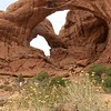 Utah, Arches National Park, Double Arch