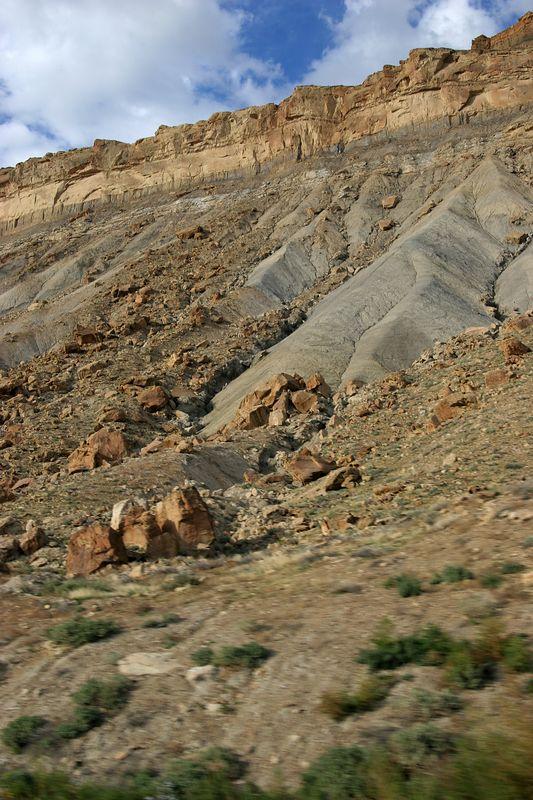 Colorado, almost in Utah on interstate 70