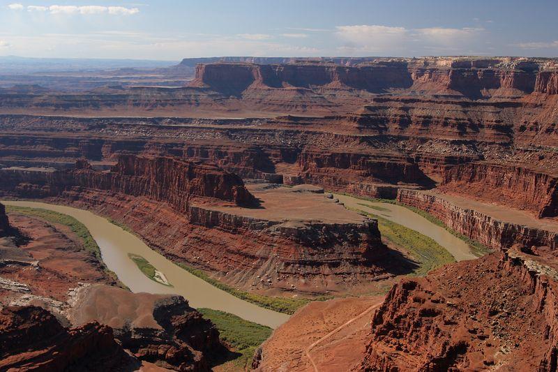 Utah, Canyonlands, Dead Horse Point, Colorado River