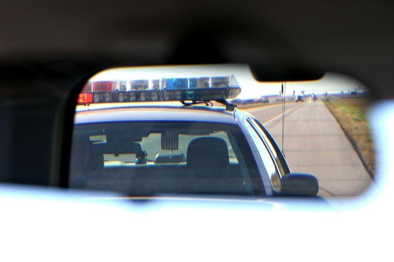 Kansas, getting a speeding ticket on interstate 70