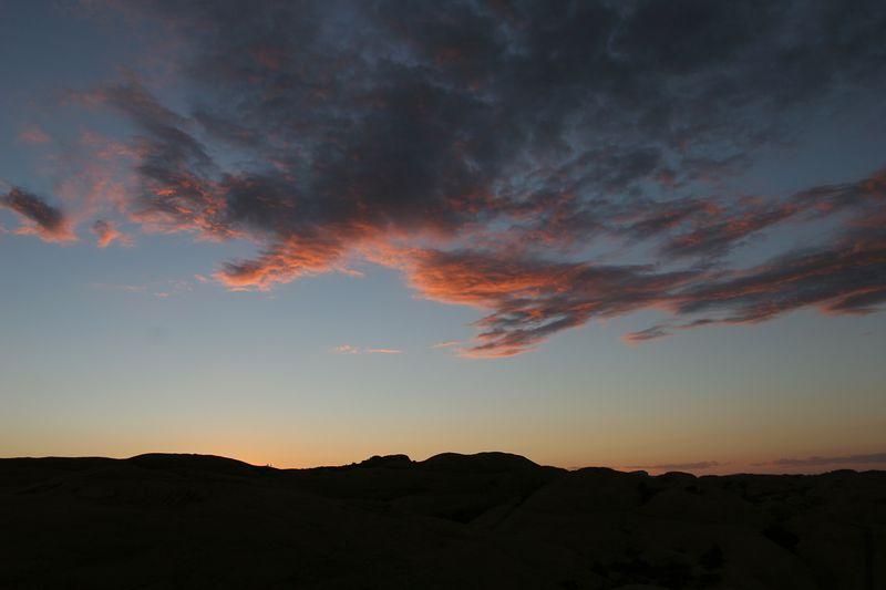 Utah, Moab, Hell's Revenge, Sunset