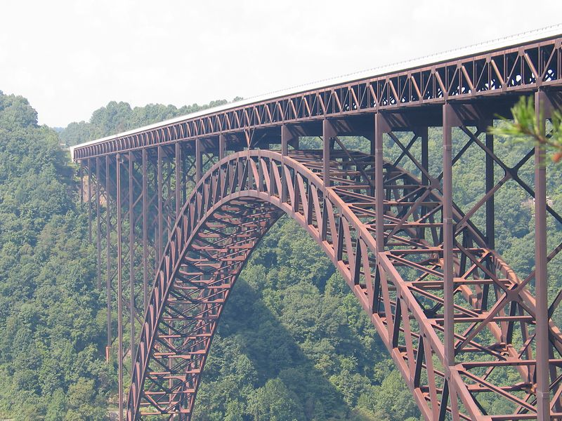 West Virginia Bridge - Highest bridge span