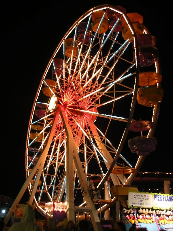 00aFavorite Ferris Wheel at Santa Monica Pier nt