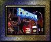 Pacific Park amusement park at Santa Monica Pier nt [borders, etched chrome frame]