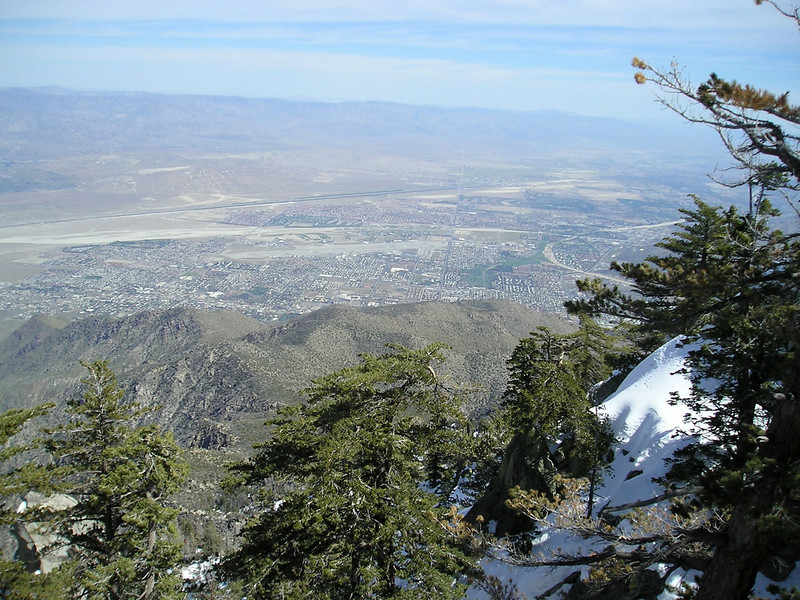 Palm Springs - viewed from Palm Springs Tram