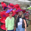 Vadis and Milly at Palm Desert flea market