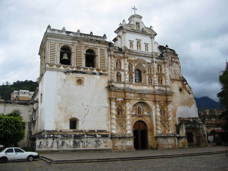 Antigua is filled with old cathedrals, most of which have been severley damaged by earthquakes.