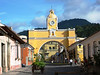 Antiga, Guatemala is a lovely city with Spanish colonial architecture, and cobblestone streets.