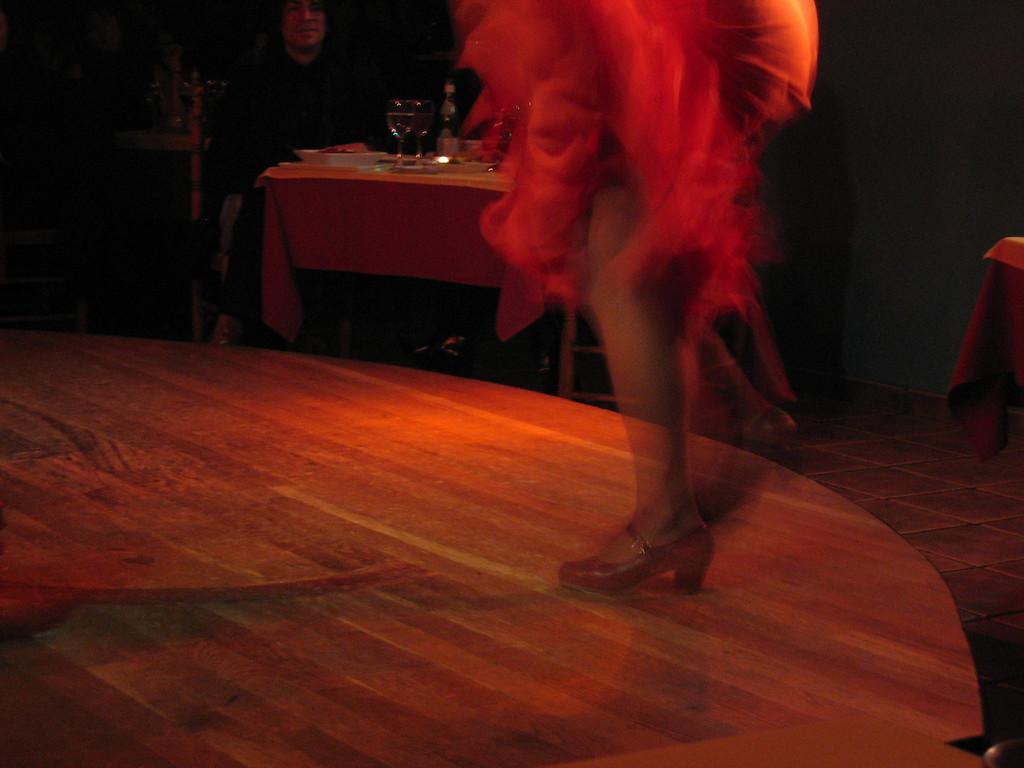 Flamenco nightclub
