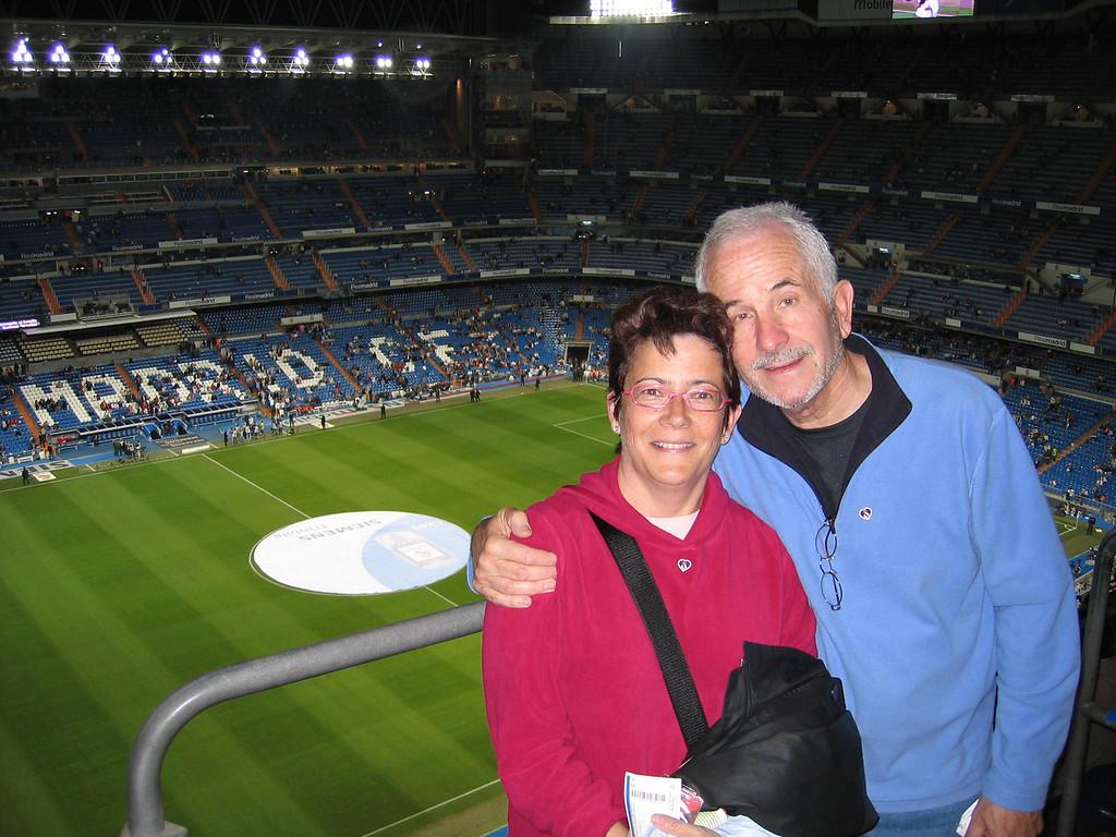 Bernabau - home to Real Madrid