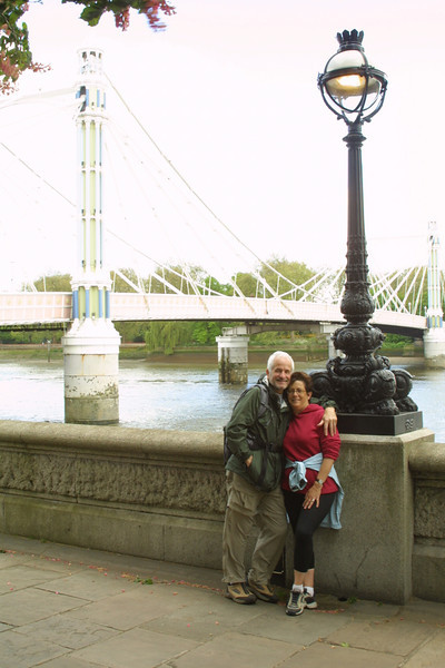 Albert bridge - Thames Embankment