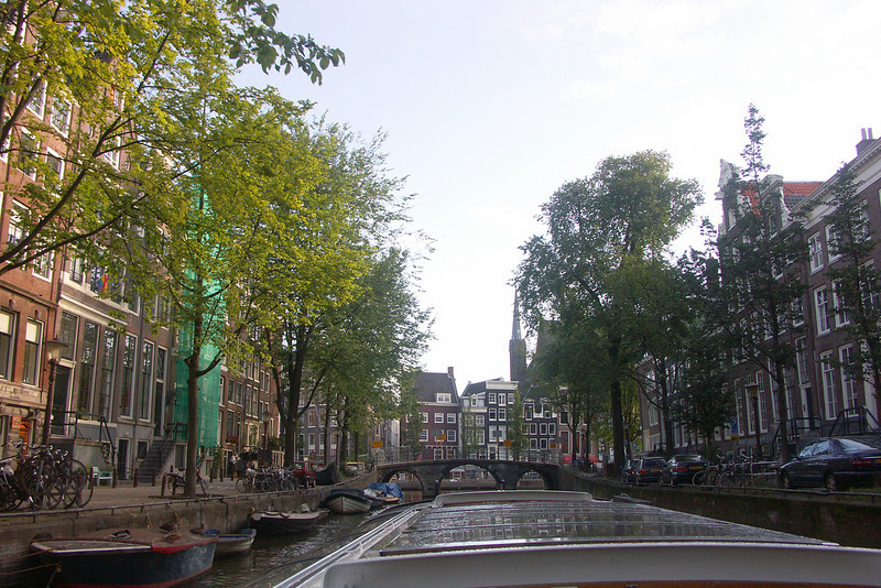 This is my last canal photo in Amsterdam. I took the photo from a canal bus that stops at tourist destinations throughout the city.