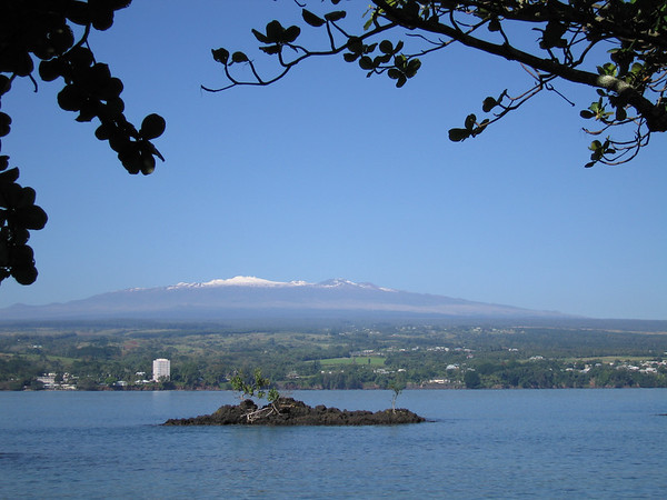 Pictures don't capture the sheer scale of Mauna Kea. On a clear day like this it made Mt. Rainier seem like a mole hill.