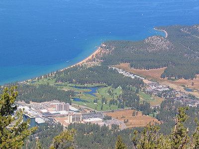 16 Lake Tahoe, Heavenly Gondola Ride