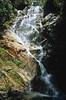 waterfall along the way to Maccu Pichu