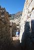 Walking through the ruins