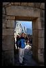 Incan archway