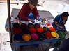market dyes at Pisac