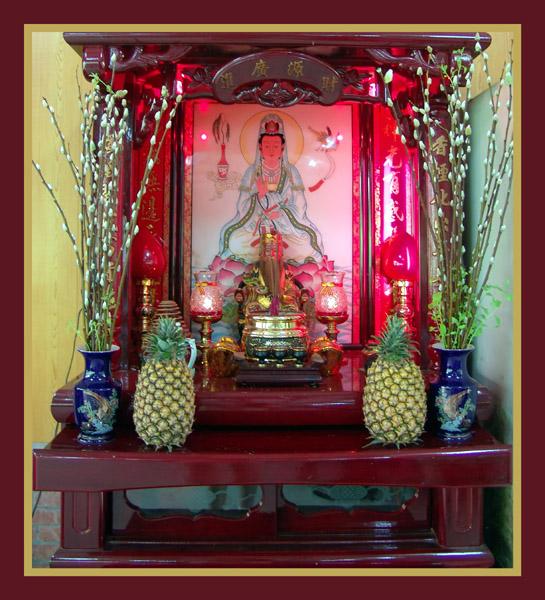Altar in TAIWAN © 2005 John Nicholas Moses