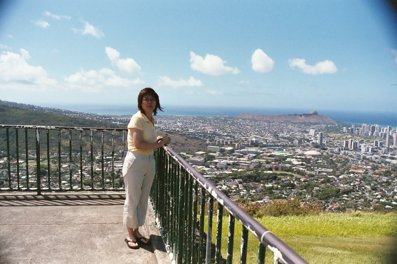 Tantalus Lookout - Diamond Head