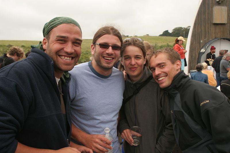 Jean Go, Me, Maureen and Cedric
