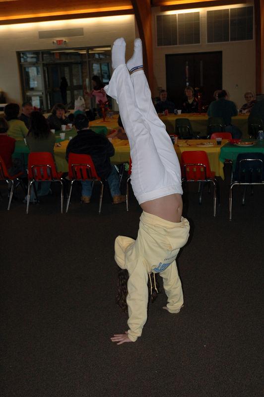 Gymnastics...