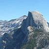 Mount Hoffman (?) from Glacier Point - Yosemite NP