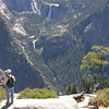 Many waterfalls - seen from Glacier Point - Yosemite NP